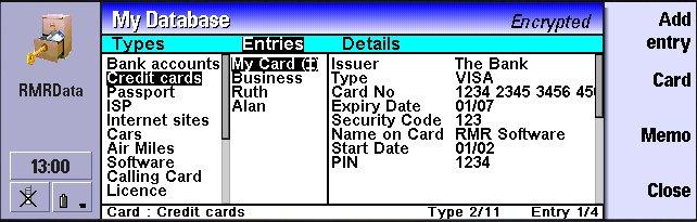 RMRData for Nokia Communicator